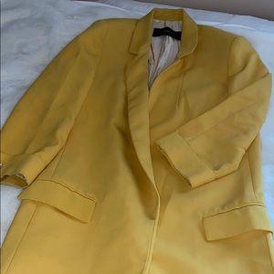 Zara Mustard Yellow Blazer